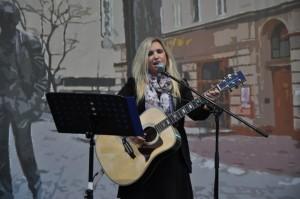Julia Vikman - I Międzynarodowy Festiwal im. Bulata Okudżawy w Hajnówce