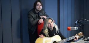 Julia Vikman i Andrey Vasilyev na Radio Gdansk